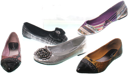 Wholesale Shoes - womens-fashion-flats-002