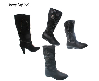 Wholesale Shoes - boot lot 72 -
