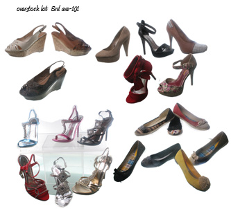Wholesale Shoes - overstock lot  3rd ave-101 -